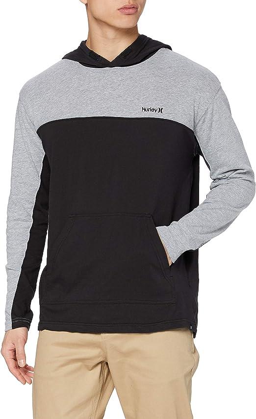 TALLA L. Hurley M Modern Surf Poncho Blocker T-Shirt Hombre
