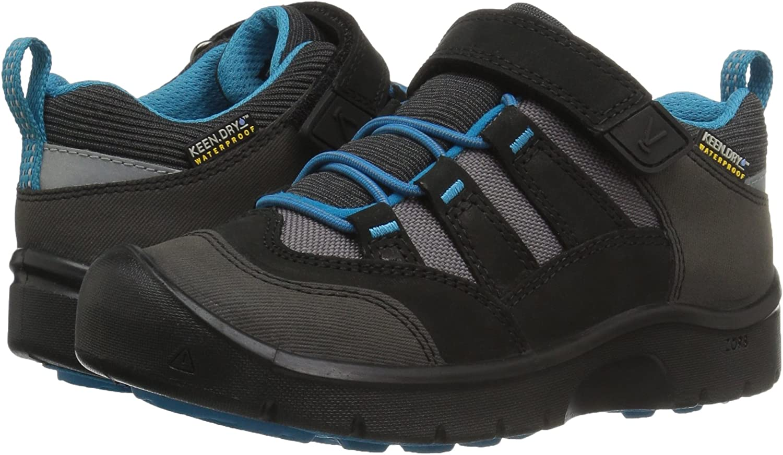 Zapatos de Low Rise Senderismo Unisex Ni/ños Keen Black//Blue