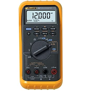Fluke 787 Process Meter With A Nist Traceable Calibration Certificate With Data Amazon Com Industrial Scientific