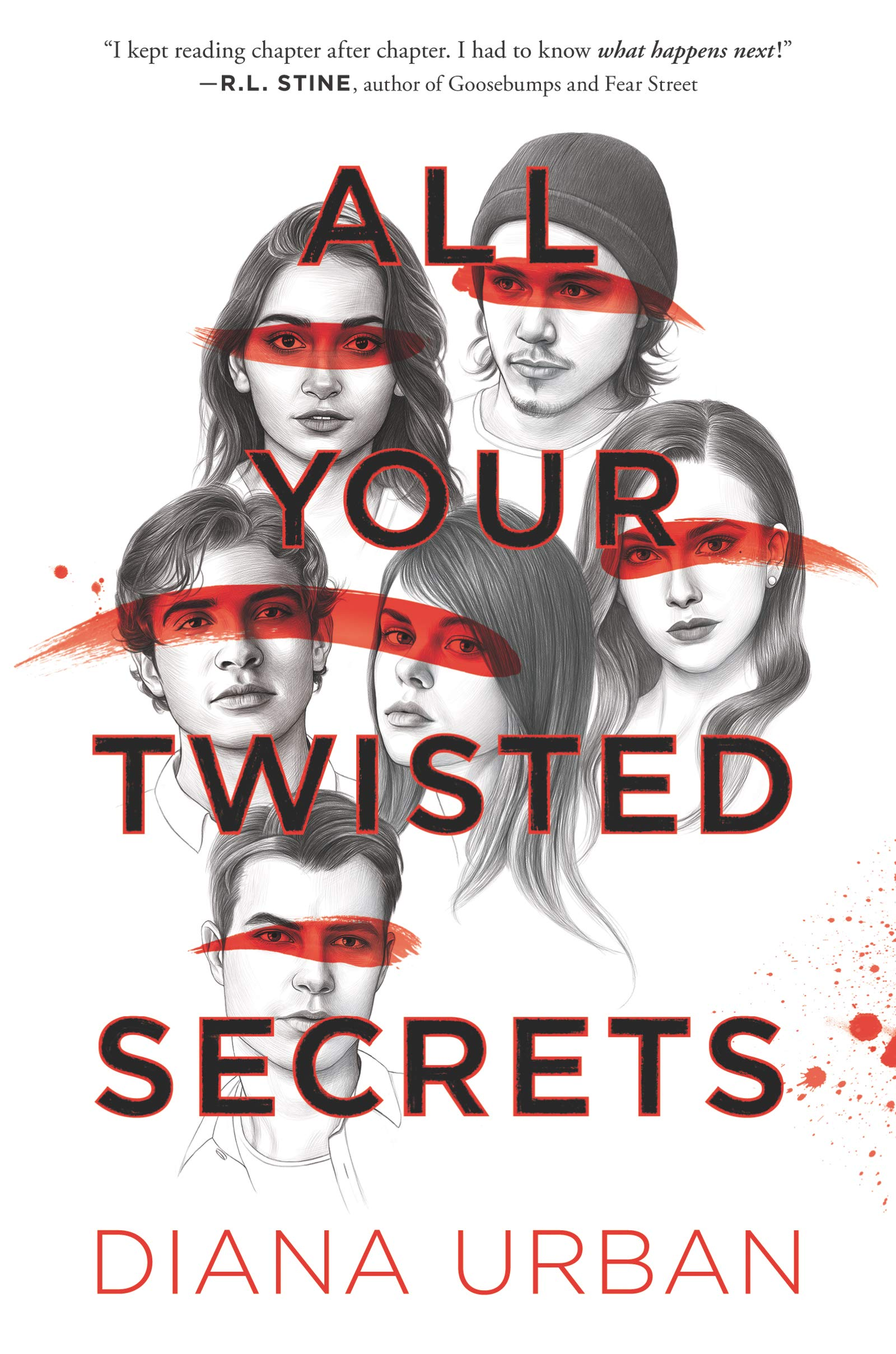 Amazon.com: All Your Twisted Secrets (9780062908216): Urban, Diana ...