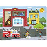 Melissa & Doug- Around The Fire Station Sound Puzzle (10736)