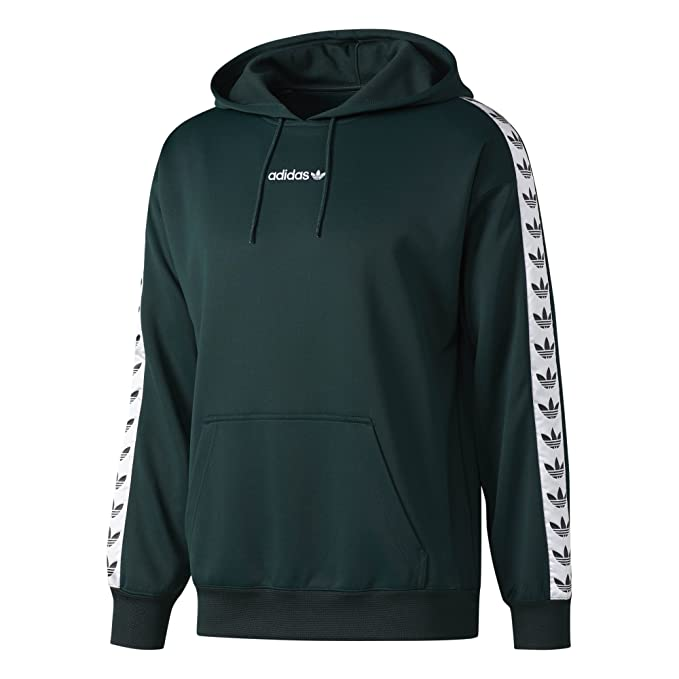 fa9fb2003c Adidas Men's Originals TNT Tape Hoodie: Green BS4689 (X-Large ...