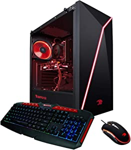 iBUYPOWER Pro Gaming PC Computer Desktop 134Av2 (AMD Ryzen 3 3200G 3.6GHz, NVIDIA GT 1030 2GB, 8GB DDR4 RAM, 120GB SSD, 1TB HDD, WiFi Ready, Windows 10 Home)