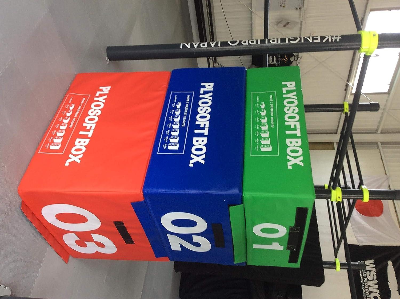 プライオメトリック ボックス Plyometric BOX クロスフィット とび箱 体操マット ウレタンブロック ステップ台 crossfit ジャンプ台 体操補助台 B07QPQVZY5