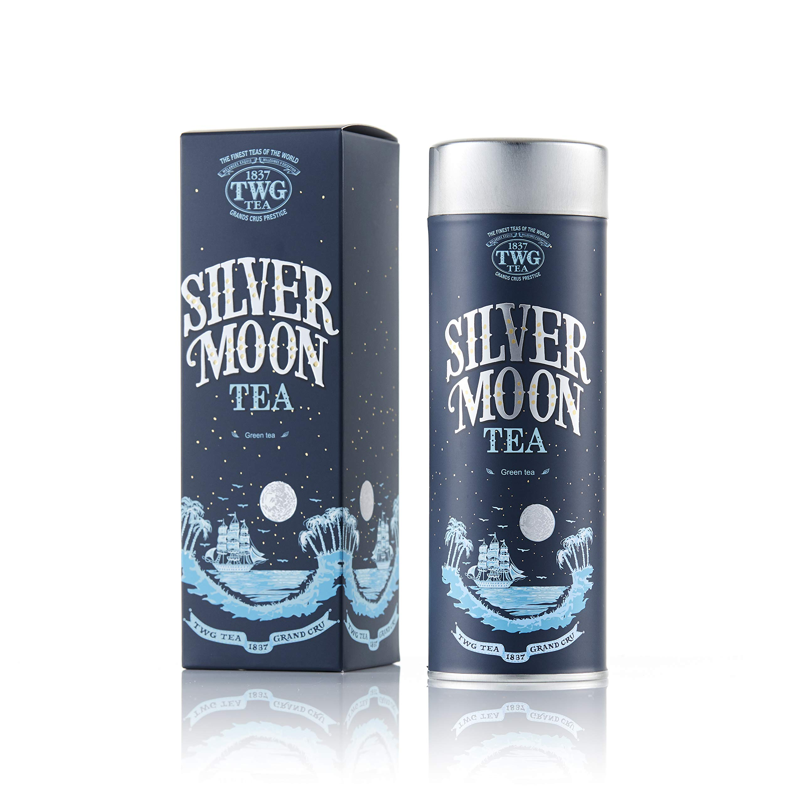 TWG Singapore - Luxury Teas - SILVER MOON TEA - 3.5oz Loose leaf