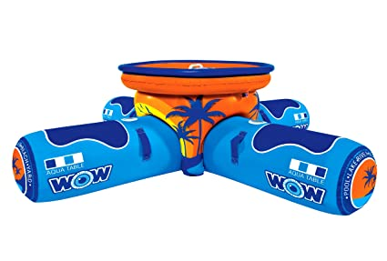 Amazoncom WOW World Of Watersports Aqua Table Inflatable - Inflatable picnic table