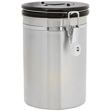 Friis Coffee Vault Canister, 16oz Stainless Steel