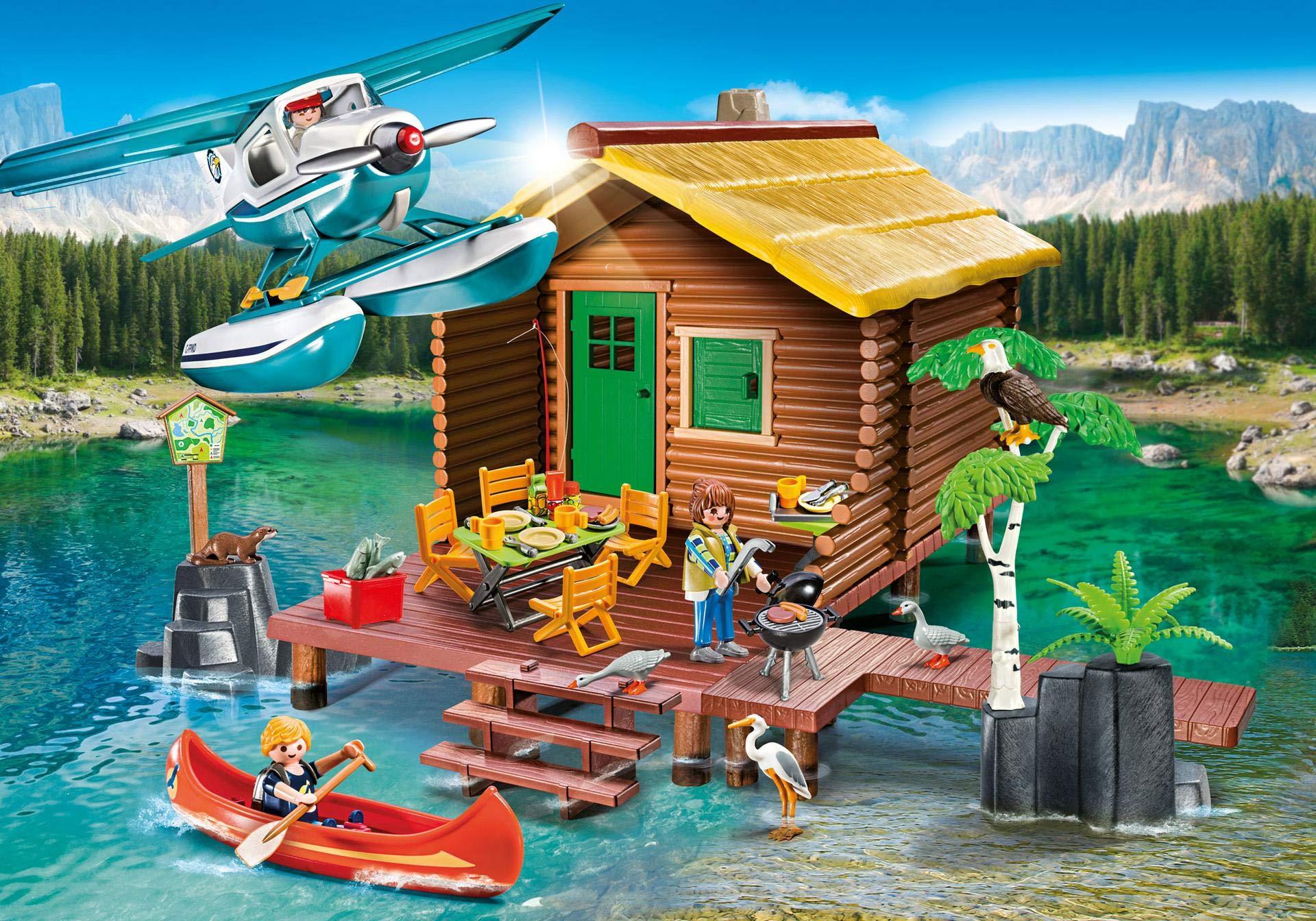 Idee Cadeau Etats Unis.Details Sur Jouet Enfant Jeu Construction Playmobil La Cabane Du Lac 9320 Idee Cadeau Noel