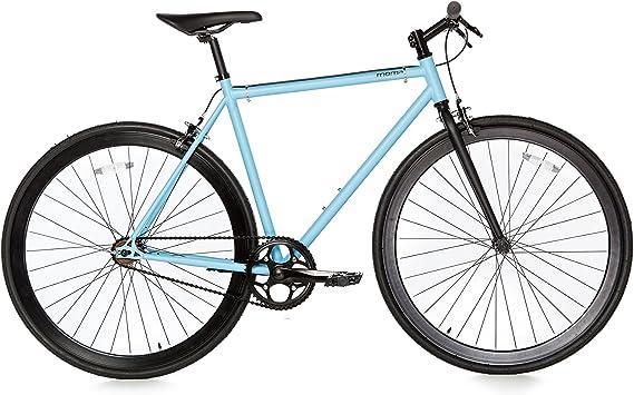 Moma Bikes Bicicleta Fixie Urbana, Fixie AzulFixed Gear & Single Speed (Varias Tallas): Amazon.es: Hogar