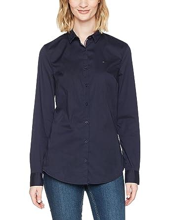 Tommy Hilfiger Original Stretch Blusa para Mujer