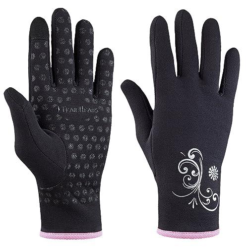 TrailHeads Power Stretch Touchscreen Running Gloves