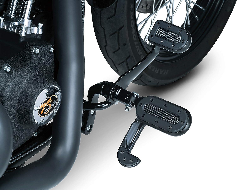 Kuryakyn Heavy Industry Shift Peg Satin Black #7036 Harley Davidson