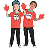 cc6f41cd016b0f Costumes USA The Cat in the Hat Thing 1 and Thing 2 Accessory Kit for Kids