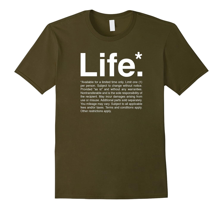 Life T-Shirt Typography Design-FL