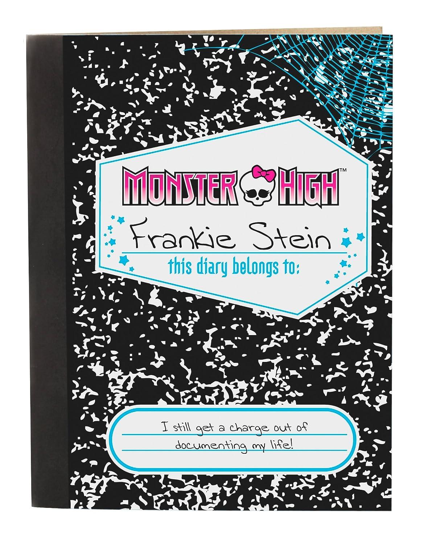 Amazon.es: Monster High V7989 - Muñeca Frankie Stein con diario monstruoso (Mattel) [importado]: Juguetes y juegos