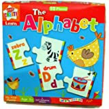 Anker Kids Create, Educational, Learn Alphabet Puzzle, Assorted, 29.7x21x2 cm