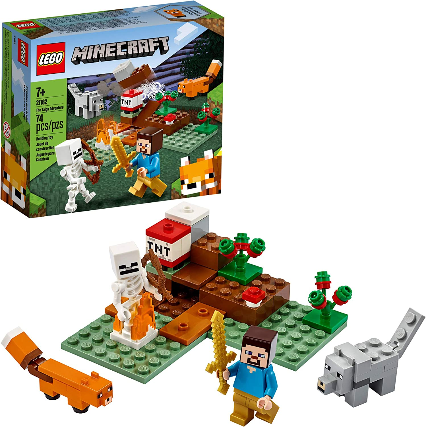 Flash Chicken Building Bricks Toys Perfect Party Pavors for Boys Girls