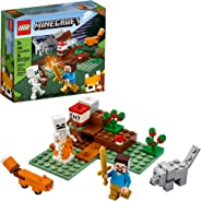 LEGO Minecraft The Taiga Adventure 21162 Brick Building Toy for Kids Who Love Minecraft and Imaginative Play, New 2020 (74 Pi
