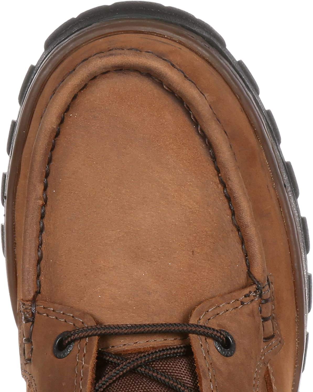 Rocky Men s 9 Moc Toe Outback Gor-Tex Waterproof Outdoor Boot-8729