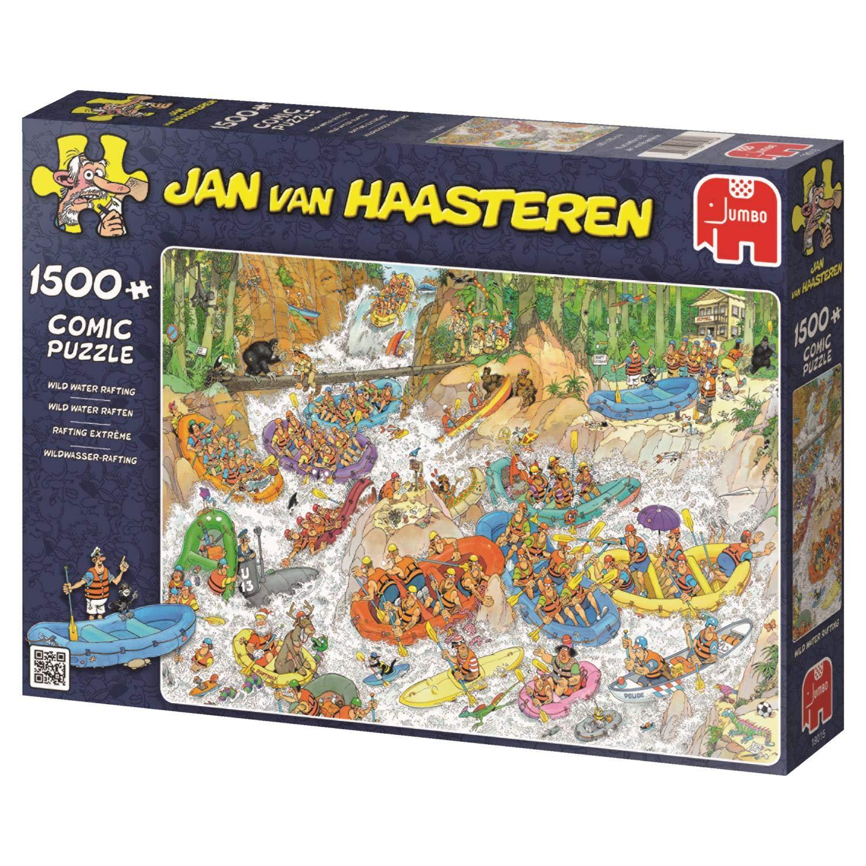 Puzzle 1000 Teile Spiel Deutsch 2015 Jan van Haasteren Die Flucht