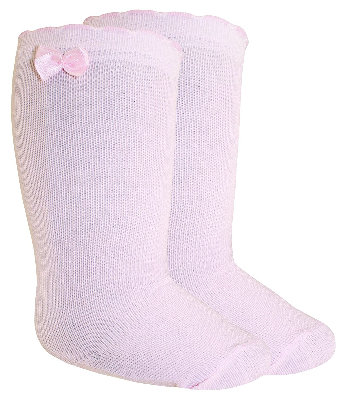 inkl Fashionguide EW-605003-W17-MA3 EveryKid Ewers 1er 2er oder 3er Pack M/ädchenkniestr/ümpfe Kniestr/ümpfe Str/ümpfe Markensocken Socken einfarbig Zierschleife f/ür Kinder