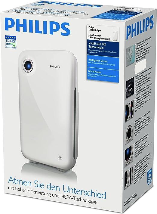 Philips Purificador de aire AC4012/10, 30 W, Acrilonitrilo ...