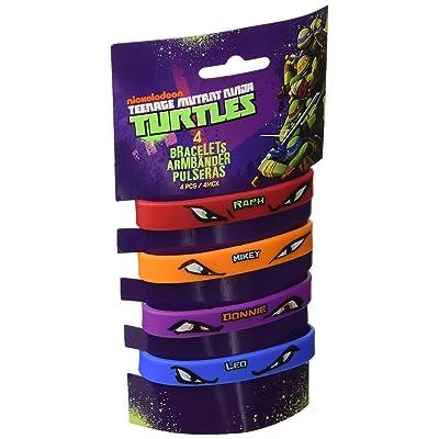 Amscan - Pulsera de Juguete Tortugas Ninja (RM500245): Juguetes y juegos