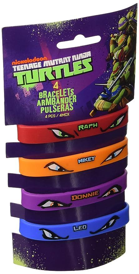 Amscan - Pulsera de Juguete Tortugas Ninja (RM500245)