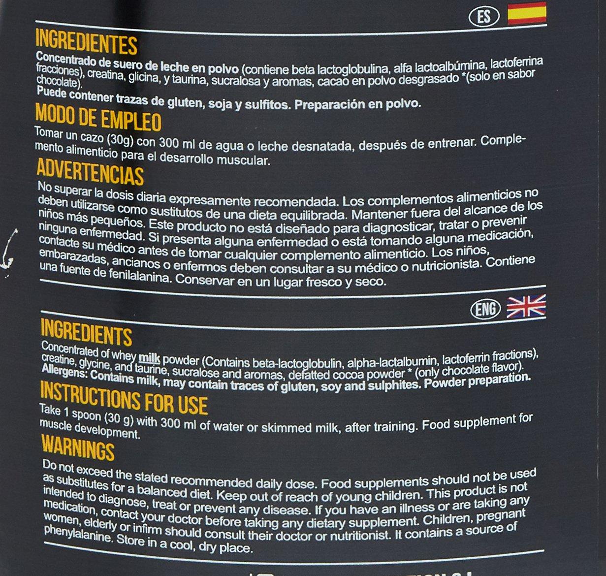 BigMan Ultimate Whey Protein 2 Kg Chocolate: Amazon.es: Salud y cuidado personal