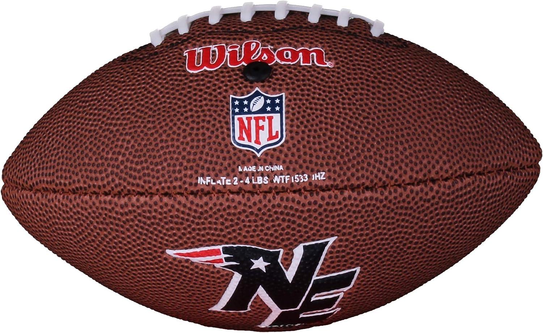 Wilson Football NFL Mini Patriots Logo - Balón de fútbol americano ...