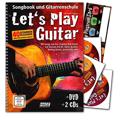 Let s Play Guitar banda 1 con 2 CD, DVD y de música de ...