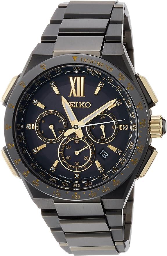 [セイコーウォッチ] 腕時計 ブライツ FLIGHT EXPERT SAGA212 ブラック