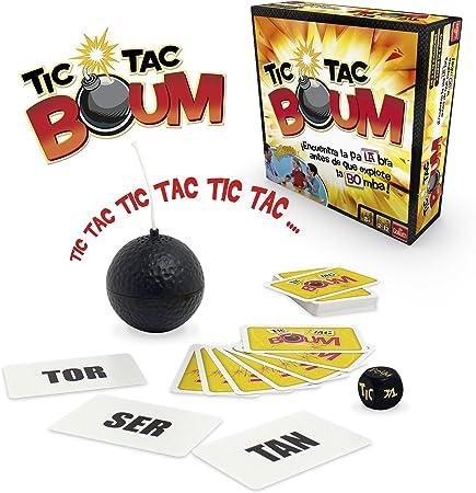 Goliath Tic Tac Boum, Juego de Cartas, Encuentra la palabra (70438 ...