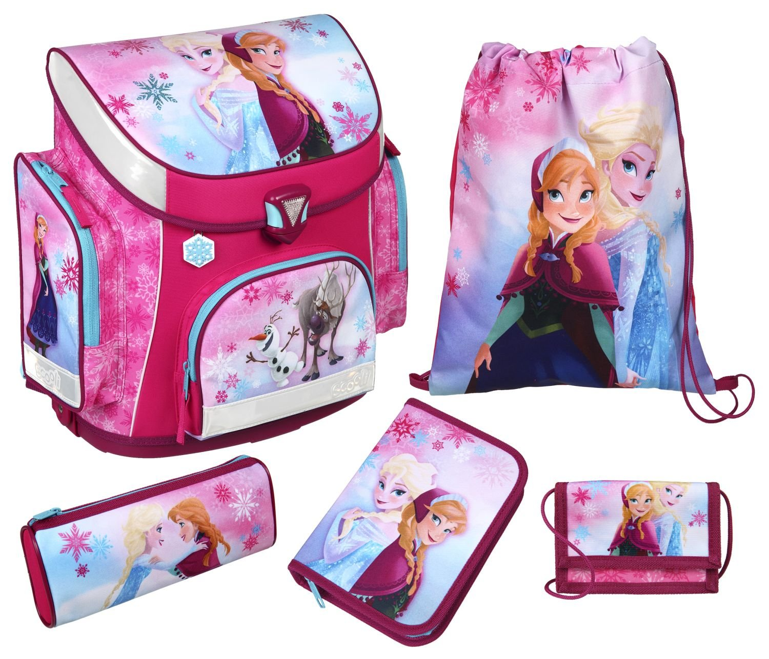 Amazon Blitzangebot - Scooli Schulranzen Set Campus Plus Disney Frozen