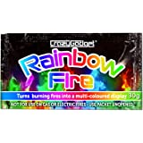 CrazyGadget® (Pack of 6) 6X Rainbow Fire Magic Fire Coloured Flames Bonfire Colour Changing Fire For Log Burner