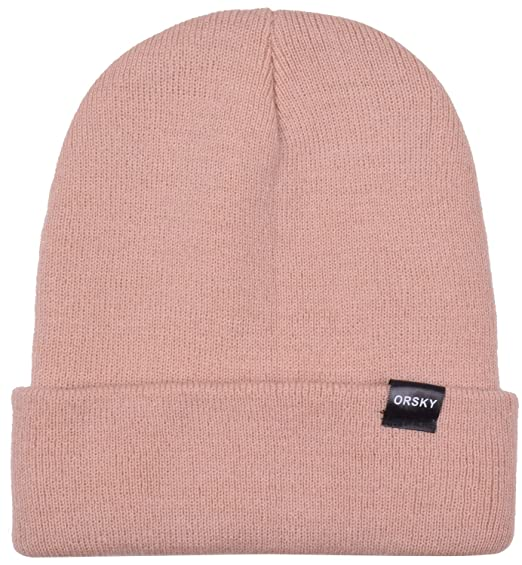 Cuff Beanie Cap Hat Plain Knit Hats Watch Caps Warm Khaki Beanie Men  Women da07f99177c
