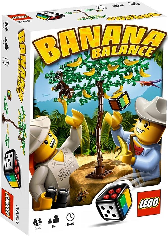 LEGO Juegos 3853 - Banana balance [versión en inglés]: Amazon.es: Juguetes y juegos