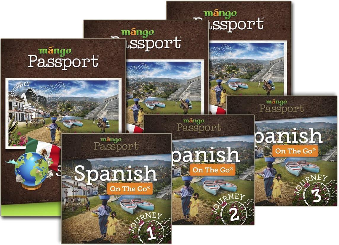 Amazon Com Mango Passport Spanish Journeys 1 2 3 Download