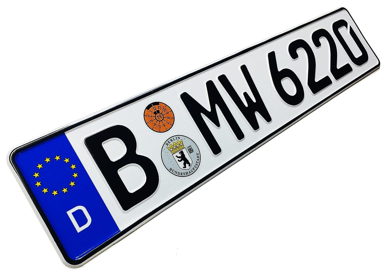 Amazon.com: Z Placas compatibles con BMW placa de matrícula ...
