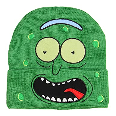 874d89e94fd Bioworld Rick and Morty I m Pickle Rick Hat Beanie  Amazon.co.uk ...