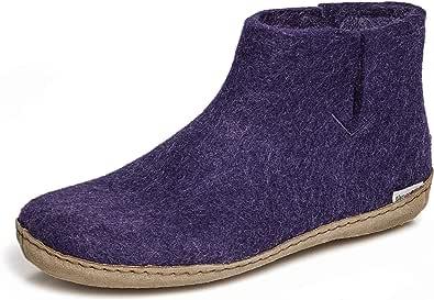Glerups - Zapatillas de estar por casa para mujer Violeta violeta, color Violeta, talla 38