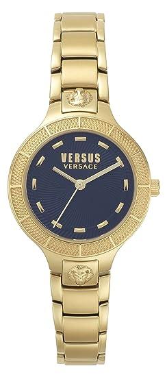 Versus by Versace Reloj Analogico para Mujer de Cuarzo con Correa en Acero Inoxidable VSP480618