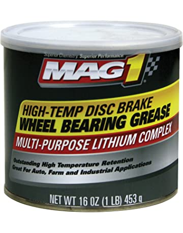 Mag 1 720 Red High-Temp Disc Brake Wheel Bearing Grease - 1 lb.