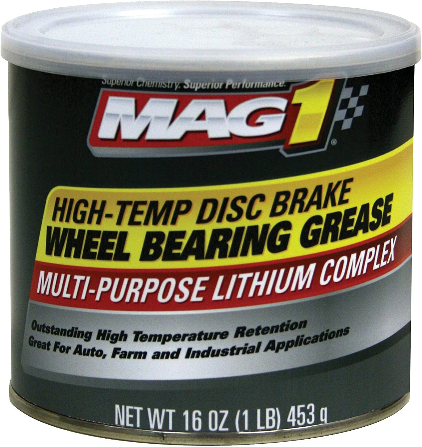 Mag 1 720 Red High-Temp Disc Brake Wheel Bearing Grease