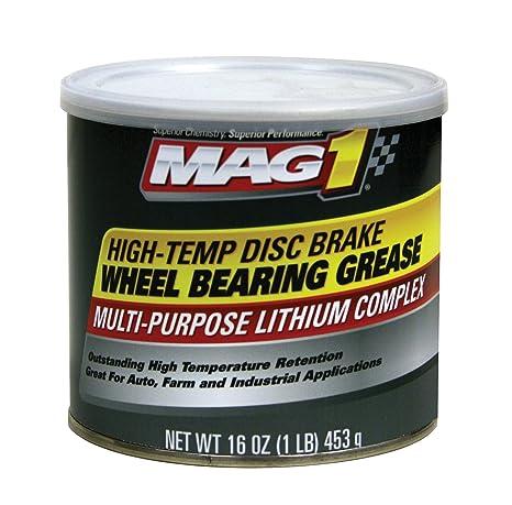 MAG 1 720 rojo high-temp freno de disco rueda Rodamientos grasa – 1 Lb