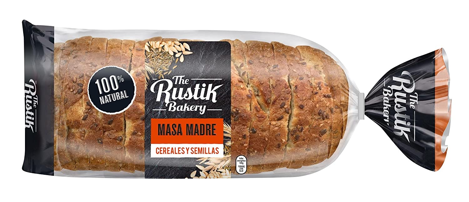The Rustik Bakery - Pan de Barra de Cereales y Semillas - 400g: Amazon.es: Alimentación y bebidas