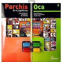 Fournier - Tablero Parchís/Oca y fichas, 40 x