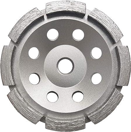 Concord Blades GCS050FCP 5 Inch Single Rowed Diamond Cup Wheel with 5//8-11 Thread