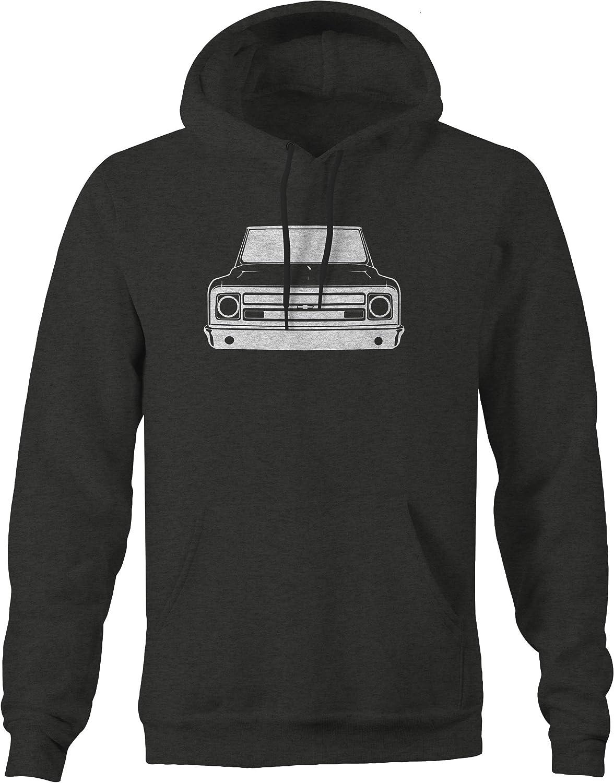 Classic American Pickup Truck C10 Hotrod Hoodie for Men