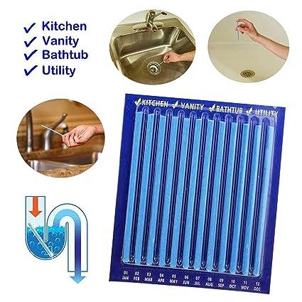 yenjos Cleaning Sticks enzima Atic Drain Cleaning Sticks ...